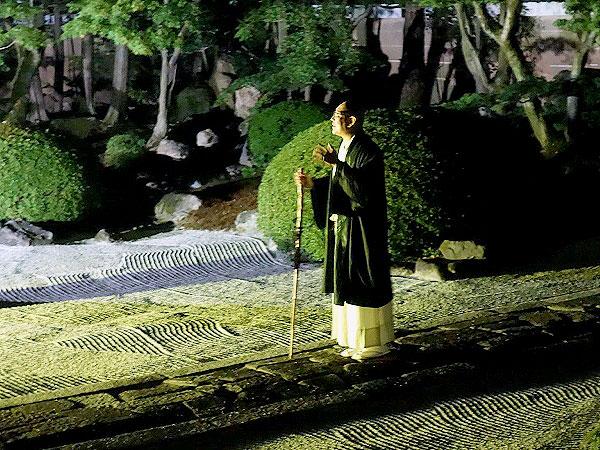 まいまい京都【ライブ配信】真夏の夜の京都怪奇譚、蓮久寺本堂から怪談和尚のひんやりナイト