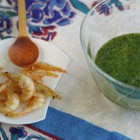 第10回 〝処暑(しょしょ)〟に「深緑のくすり粥と白海老の素揚げ」を