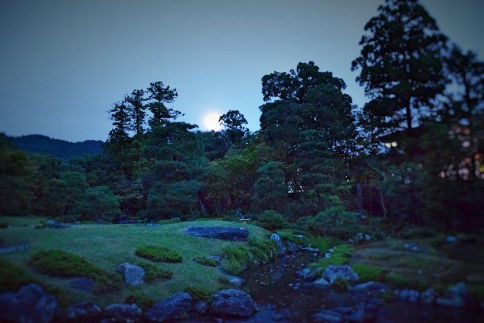 無鄰菴 東山の名月をながめる会2020 月明かりの無伴奏ヴァイオリンリサイタル「月光」茶会