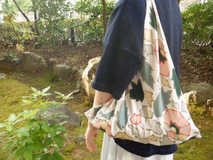 京エコロジーセンター 使わなくなった布を使ってエコバッグをつくろう