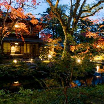 瓢亭×無鄰菴 秋の南禅寺界隈をしっとりと味わう特別プライベート和ろうそく茶会