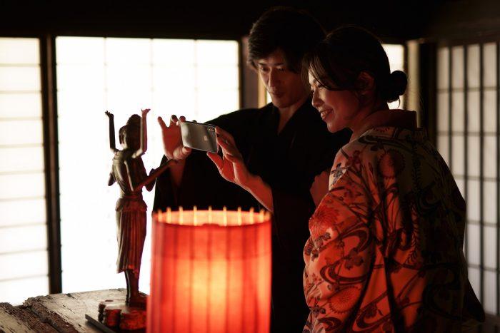 観て、触れて、撮るミニチュア光の仏像展