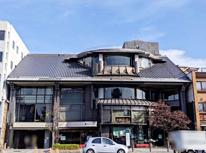 ■京都市生まれの建築家の若林広幸氏が手掛けた西利本社・本店