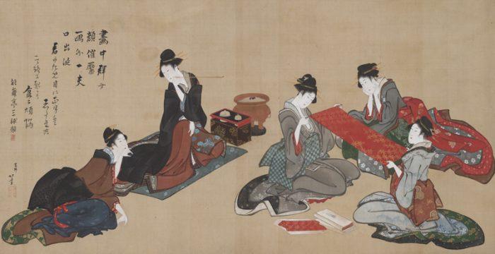 細見美術館 細見コレクション 集う人々―描かれた江戸のおしゃれ―