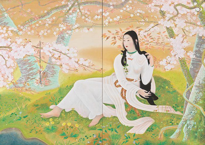 京都府立堂本印象美術館 生誕130年 堂本印象展