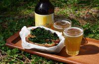 第1回〈清明〉 「春ほうれん草のはちみつホットサンド」で、爽快にビールを