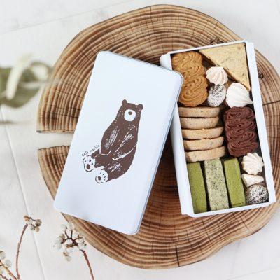 【cafe marble】 これはきゅんです。「カワイイ」がデザインされた京都人気カフェのクッキー缶