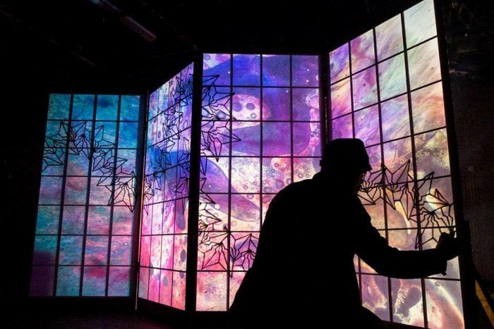 京都伝統産業ミュージアム特別企画展「スペース・マウンティング」