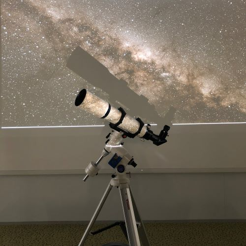 歴彩館こどもカレッジ 天文教室 夏の星空をみてみよう!―夏の大三角とペルセウス座流星群―
