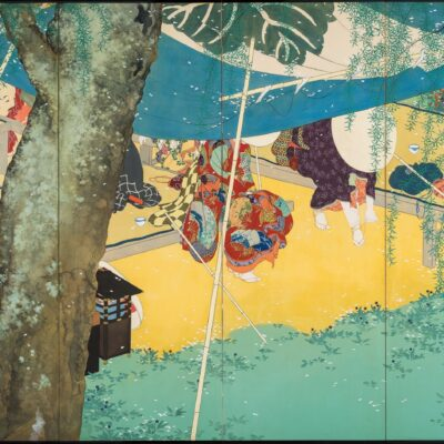 福⽥美術館/嵯峨嵐⼭⽂華館 木島櫻谷~究めて魅せた「おうこくさん」
