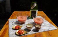 第9回〈立秋のおつまみ〉 「トマトの冷たいすりながし」と「セミドライトマト」で、夏酒を
