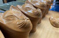 深草の老舗!昭和5年創業、1枚1枚手作りへのこだわりが込められた稲荷煎餅「おせんの里 松屋」