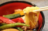 【E-TOKO深草 テイクアウトマーケット】墨染の「拉麺へんてこ」のヘルシーすぎるこんにゃく麺の冷製ラーメンが美味だった!
