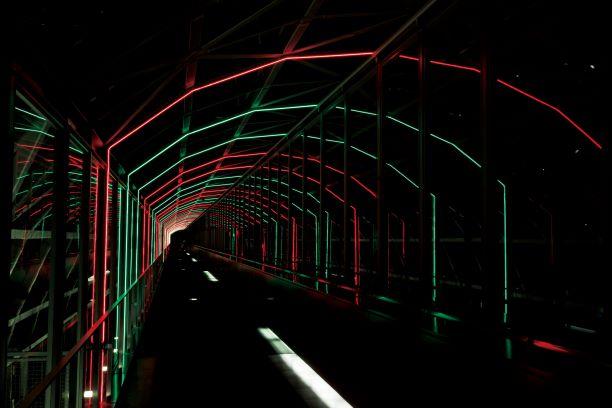 京都駅ビル 光のファンタジー2021
