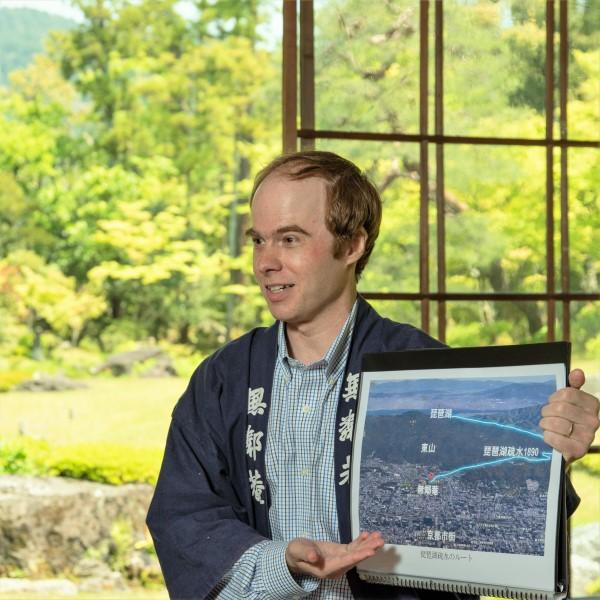 「植彌加藤造園知財企画部マイケルさんの「京都にこんな場所があったのか!」 南禅寺界隈別荘群40分英語レクチャ-」