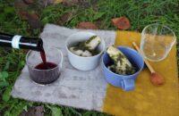 第12回〈秋分のおつまみ〉 「里芋の海苔バターあえ」で赤ワインを