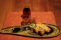 第14回〈霜降のおつまみ〉 「水菜の春巻」で紹興酒(しょうこうしゅ)を